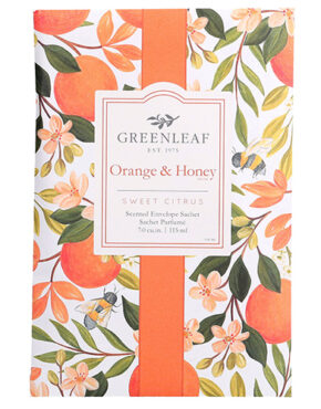 Orange et miel grand sachet Greenleaf
