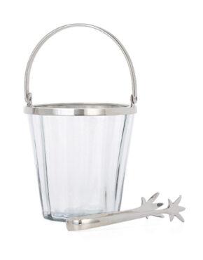 Sceau à glace en verre