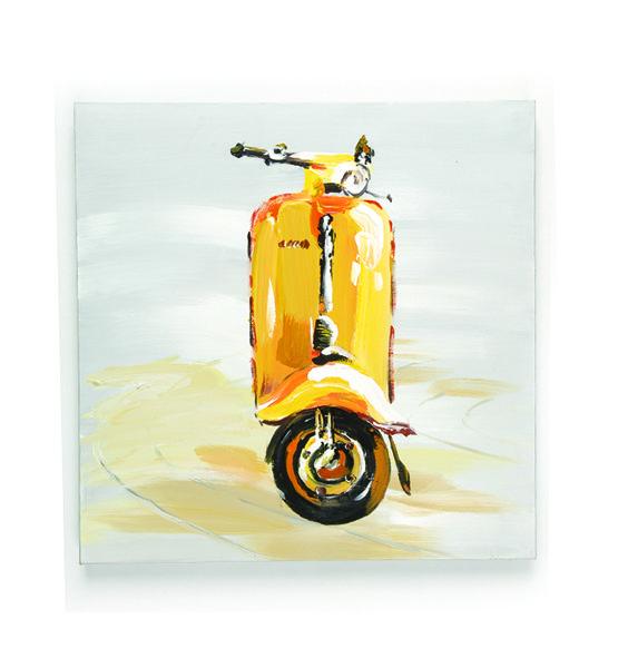 Scooter jaune