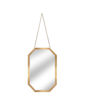 Miroir doré 11 x 7