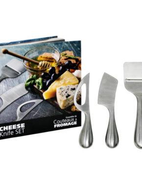 Ensemble de 3 couteaux à fromage