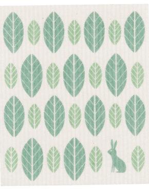 Linge feuilles vertes