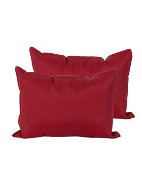 Coussin rouge 14 x 20