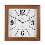 Horloge carrée