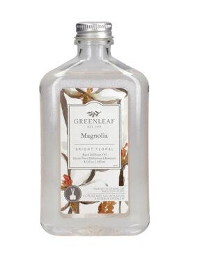 Magnolia huile pour diffuseur à roseaux Greenleaf