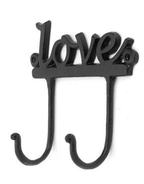 Crochet Love noir