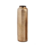 Vase de métal bronze antique 26 cm