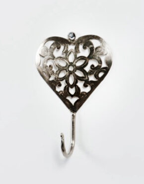 Crochet en forme de Coeur