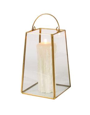 Lanterne en verre 9 po