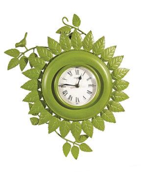 Horloge feuillage