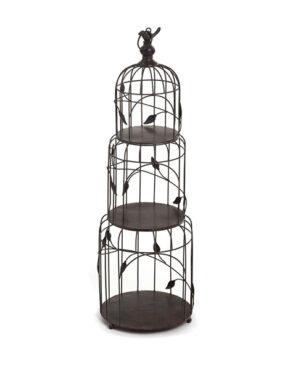 Cage d'oiseaux décorative