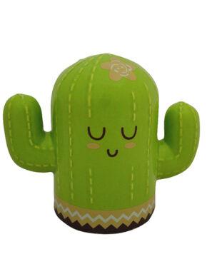 Tirelire bébé cactus vert