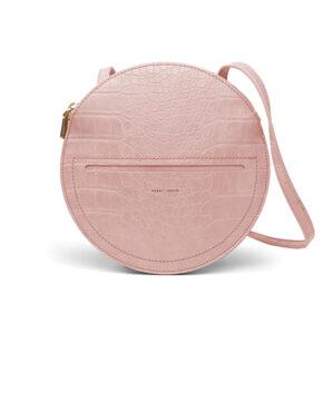 Phoebe sac à bandoulière rose croco