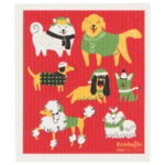 Lavette suédoise Les chiens de Noël