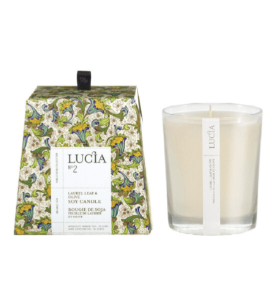 Lucia no2 bougie 50 heures